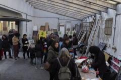Èxit de taller d'estampació del dia 13 de gener. — Pantalla de serigrafia gentilesa de PrintWorkers Barcelona