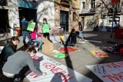 La nostra reivindicació arriba als carrers que fan Foguerons.