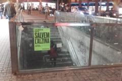 """Que no quedi cap punt estratègic de Gràcia sense """"el cartell verd""""!"""