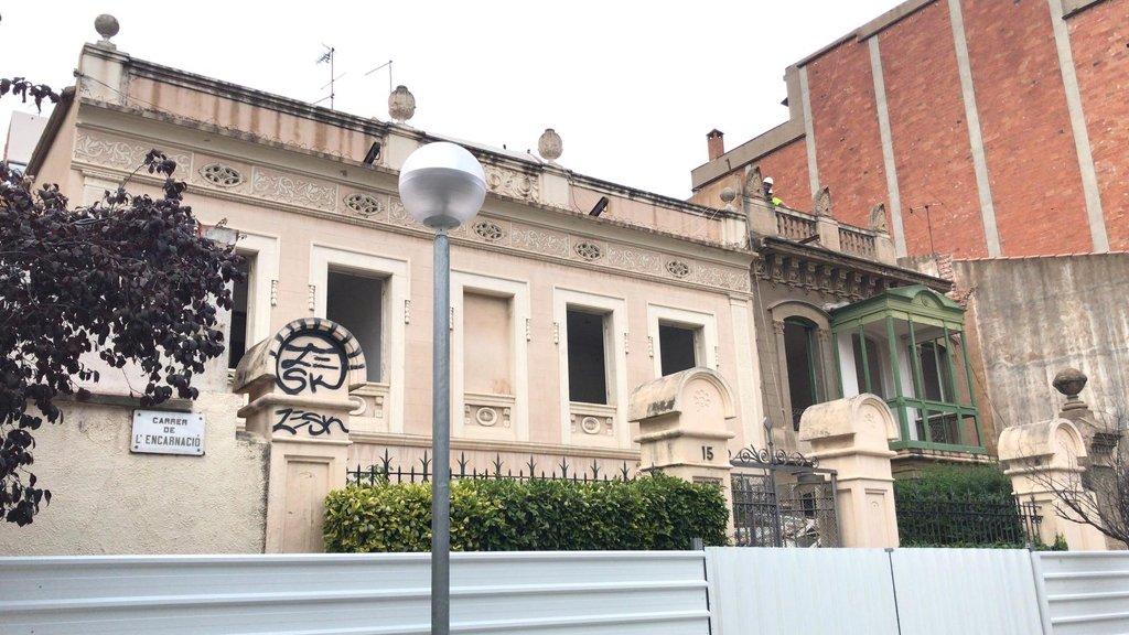 Casetes Carrer Encanació, a Gràcia
